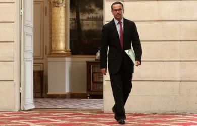 Romain Nadal (Porte-Parole du Ministère des Affaires Étrangères français). (Maxppp)