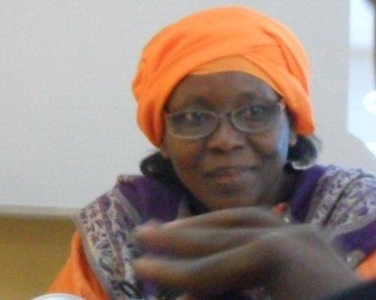 Zara Mahamat Yacoub, présidente des radios privées au Tchad. Crédit photo : JournalduTchad