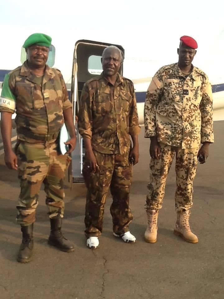 Centrafrique : Le Général Dhaffane rend visite à ses troupes
