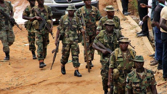 Des soldats nigérians patrouillent. Crédit photo : Sources