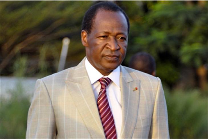 Blaise Compaoré, Président du Burkina-Faso. Crédit photo : Sources
