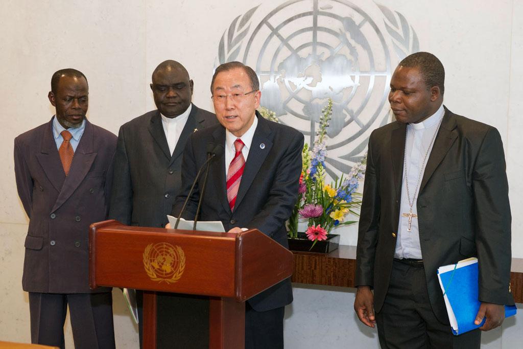 Ban Ki-Moon. UN