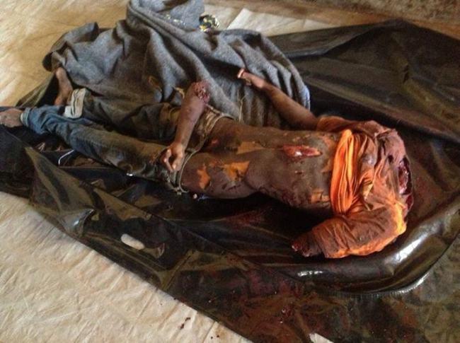 Bachirou a été lynché à mort hier vers 14 heures au niveau de Kokoro, non loin de Fatima, dans le sud du quartier KM5 à Bangui.