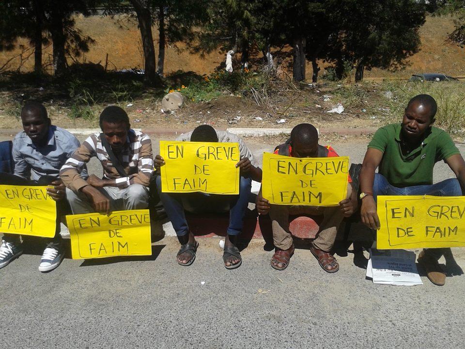 Des étudiants tchadiens d'Algérie en grève de la faim, réclament le paiement des bourses.