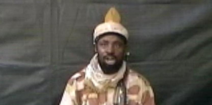 Abubakar Shekau, chef du groupe extrémiste Boko Haram (HO / BOKO HARAM / AFP)