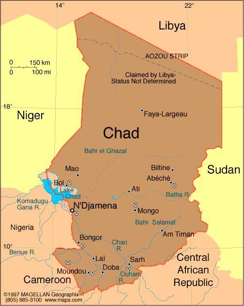 """Le Tchad """"ne saurait être un sanctuaire des terroristes"""""""