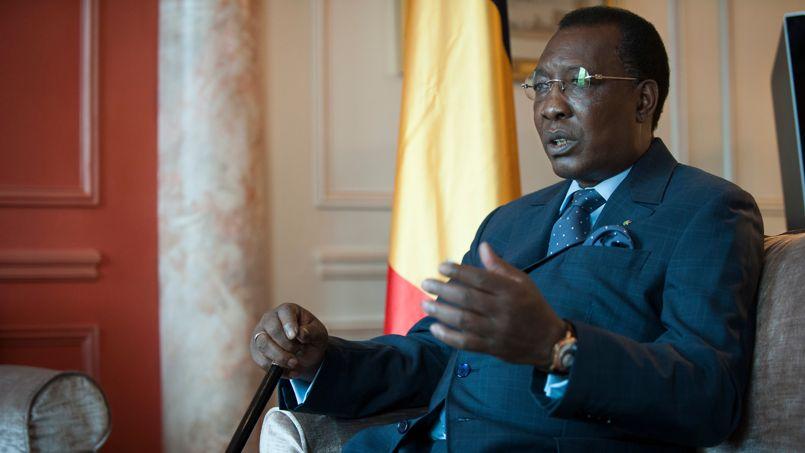 Le Président Idriss Déby. Crédit photo : Vincent Boiset/Figaro