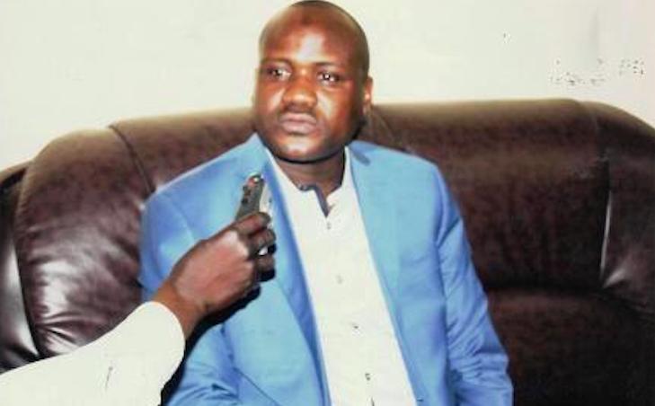 Le porte-parole de l'Alliance des ADH pour la défense des victimes tchadiennes de RCA, DIGADIMBAYE Mahamat