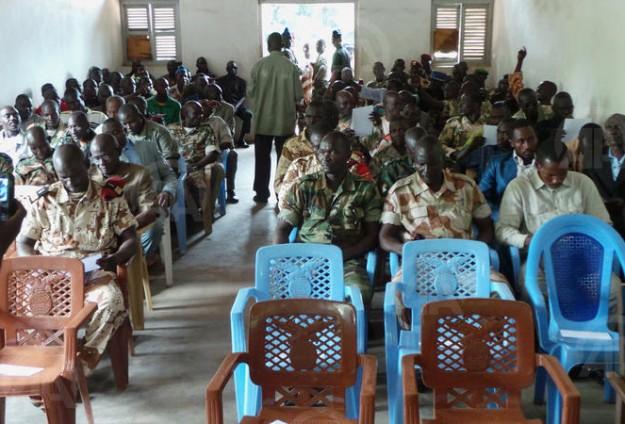 Le congrès de la Séléka à Ndélé en Centrafrique. Crédit photo : Sources