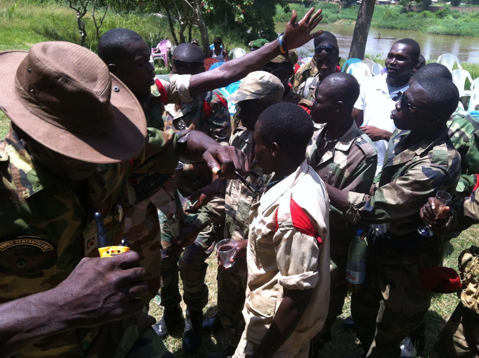 RCA : La fête chez les Anti-Balaka après l'assemblée générale et un pas vers la paix. ©  Diaspora Media
