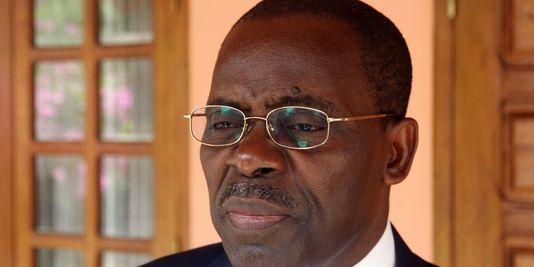Le premier ministre, André Nzapayeke. AFP/STR