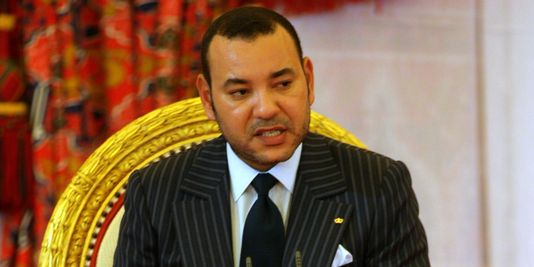 Le roi du Maroc. Crédits photo : AFP