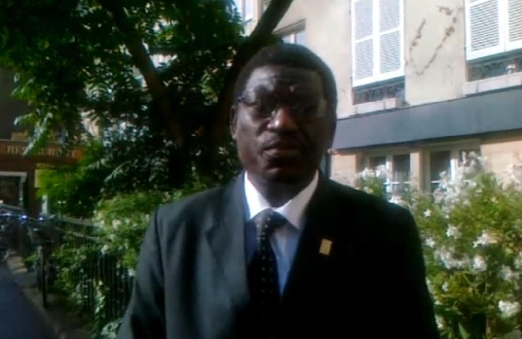 Sandjima Dounia, secrétaire exécutif du mécanisme Africain d'Evaluation par les Pairs (MAEP-Tchad).
