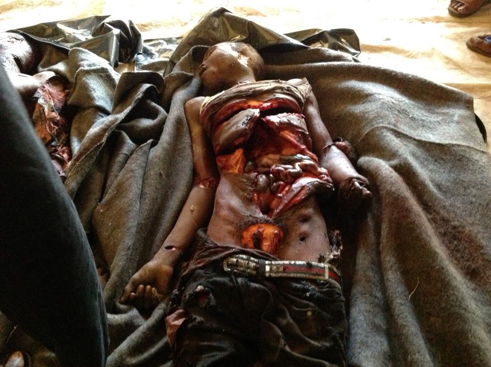 Centrafrique : Partis sensibiliser leurs frères chrétiens, ils sont lynchés à mort. Crédits photo : Haroun Gaye.