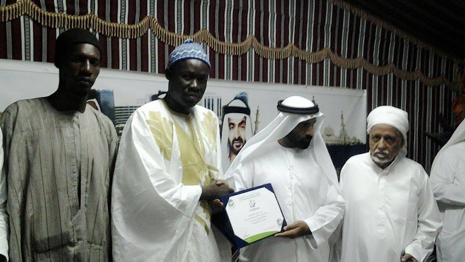 Abou Dhabi : Fasciné par une nouvelle generation d'arabisants sénégalais