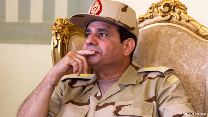 Le Président égyptien Al Sisi. Picture-alliance/dpa