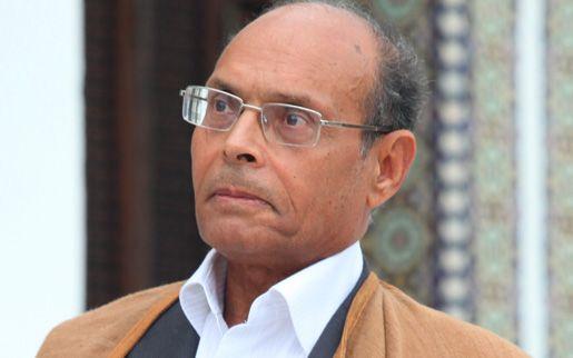 Le Président tunisien Moncef Marzouki. Crédit photo : Sources