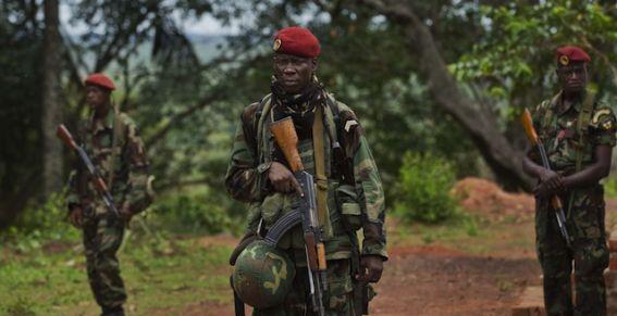 Un combattant de la Séléka. Crédit photo: Sources