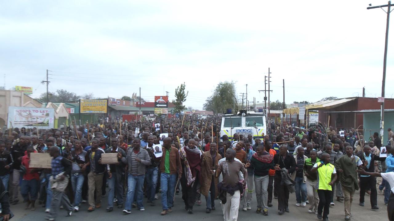 Multi-award-winning mining strike massacre documentary screens on Al Jazeera