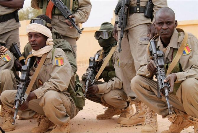 Des soldats tchadiens au Mali. Crédit photo : Sources