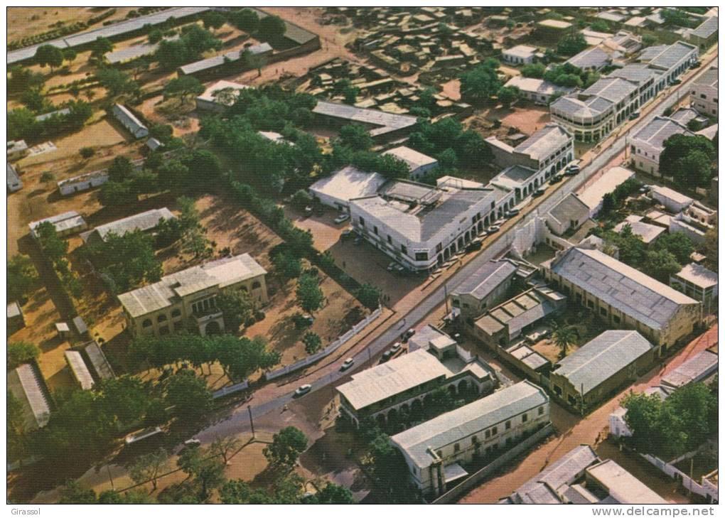 Vue aérienne de N'Djamena. Crédit photo : Sources