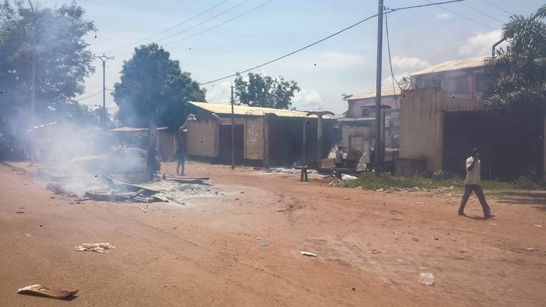 Centrafrique: Bangui mired in devastating civil war since morning