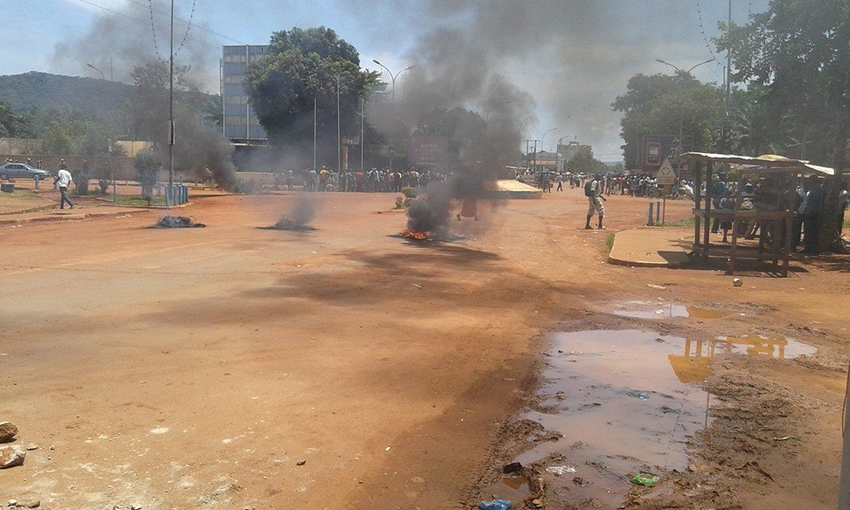 Centrafrique : Tension maximale à Bangui. Crédit photo : DIASPORA MEDIA