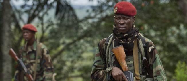 La coalition rebelle centrafricaine Séléka. © Sipa