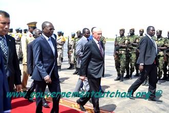 Tchad : Une délégation libyenne rencontre ce soir le Président Déby