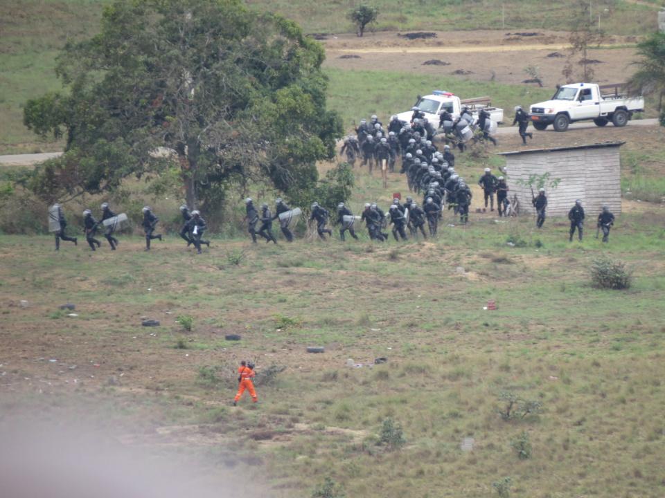 Congo : Démonstrations militaires de la FOMAC en présence du Tchad