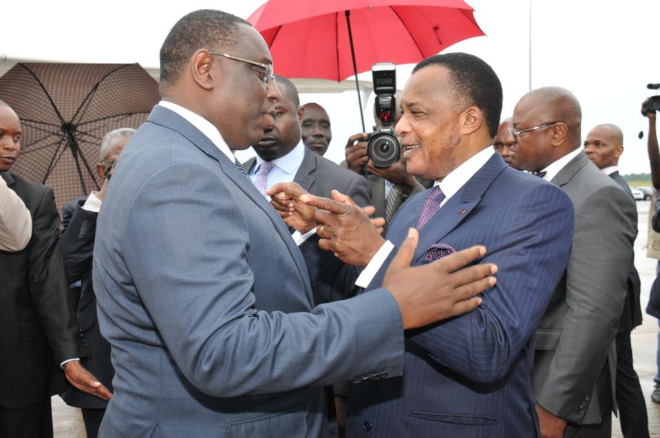 Congo-Sénégal : le président Macky Sall en séjour de travail de 72 heures à Oyo