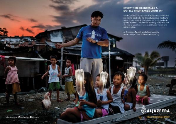 Human stories at centre of new Al Jazeera English brand campaign