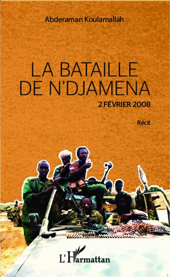 """Ouvrage : Abderaman Koulamallah présente """"La bataille de N'Djamena"""" du 2 février 2008."""