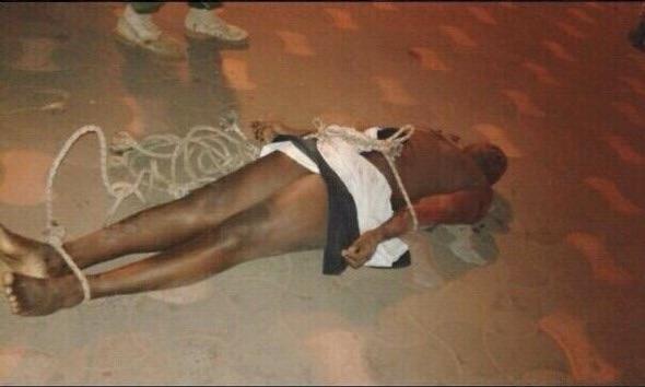Gambie : Les images des soldats exécutés froidement par le Président Yaya Jammeh