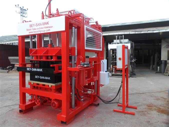 Fabrication de parpaing, fabrication de pavés beton, machine bloc beton , machine a bloc beton