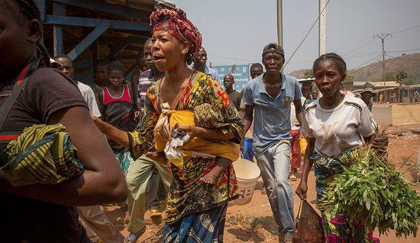 Centrafrique : La CHIMENE est une artiste