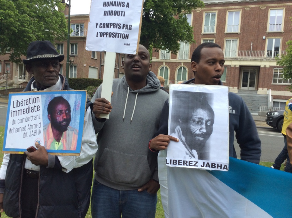 La diaspora djiboutienne en Belgique a dénoncé  la répression au Nord de Djibouti