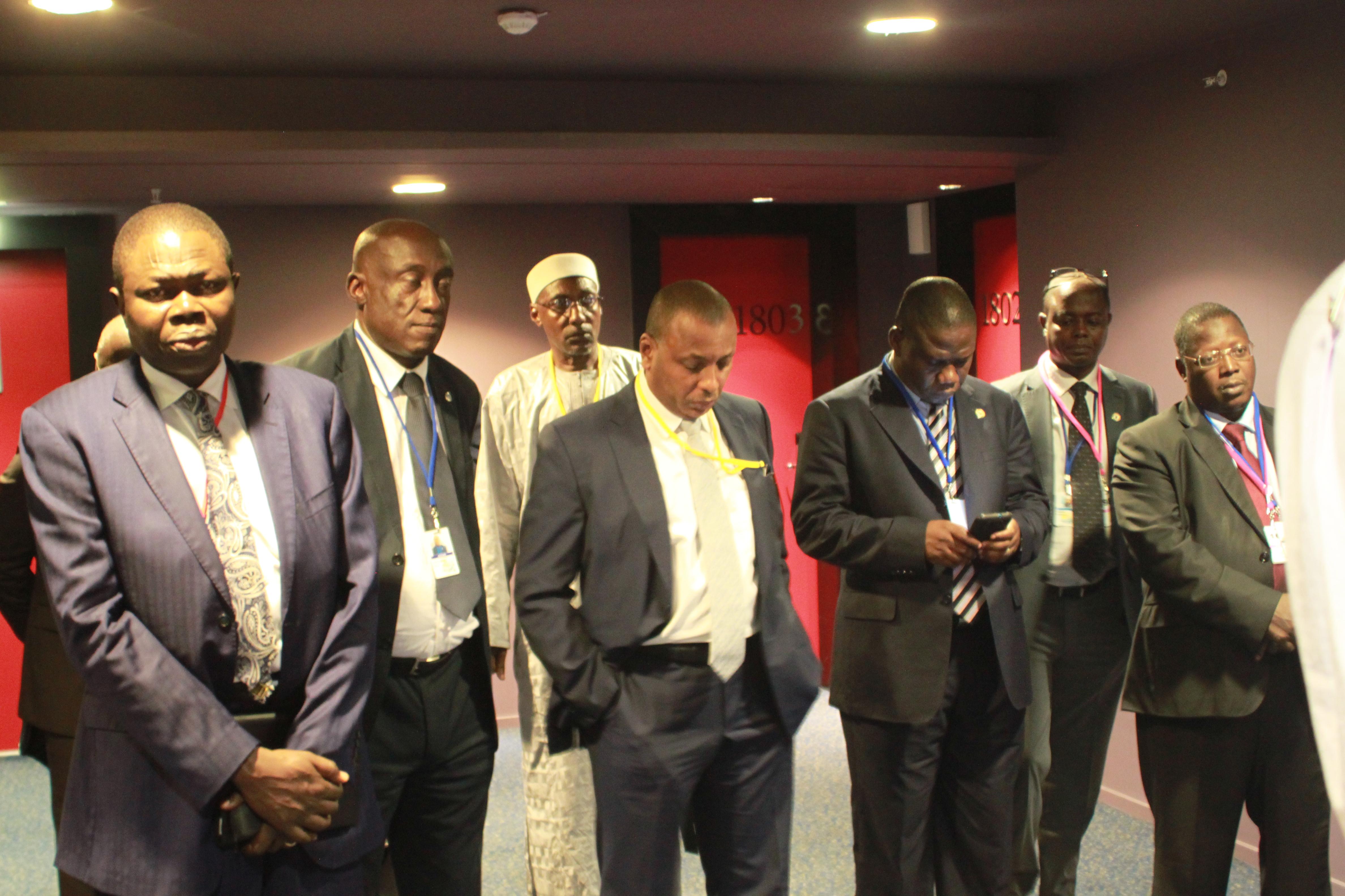 Les officiels et diplomates tchadiens à Abidjan. Alwihda Info