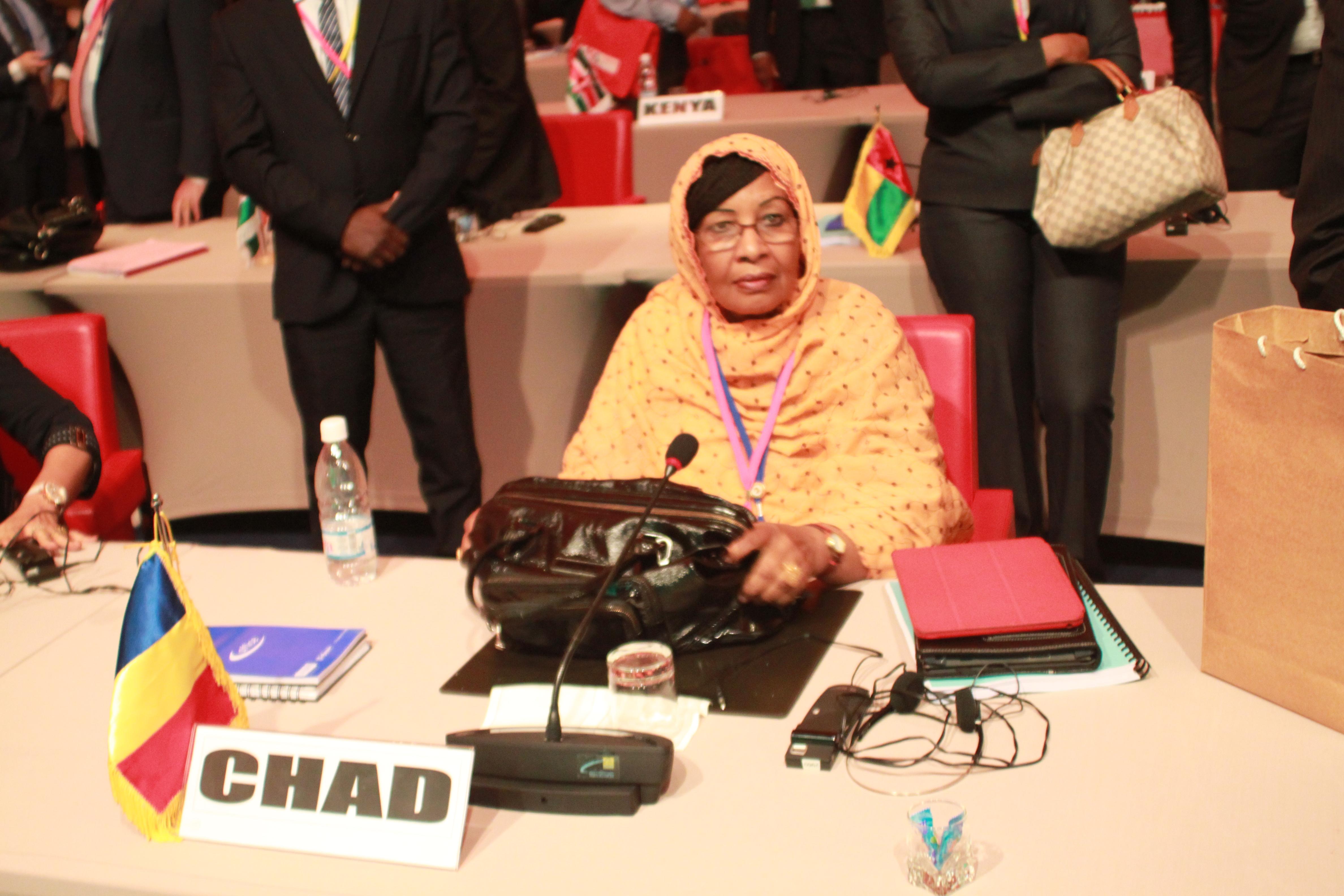 La ministre du Plan, Mariam Mahamat Nour. Alwihda Info