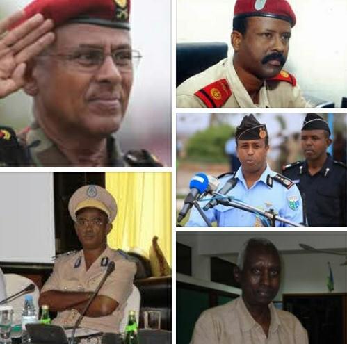 DJIBOUTI : Appel aux hommes en uniformes.