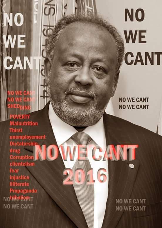 DJIBOUTI : Non au 4ème mandat du tyran Ismaël Omar Guelleh !