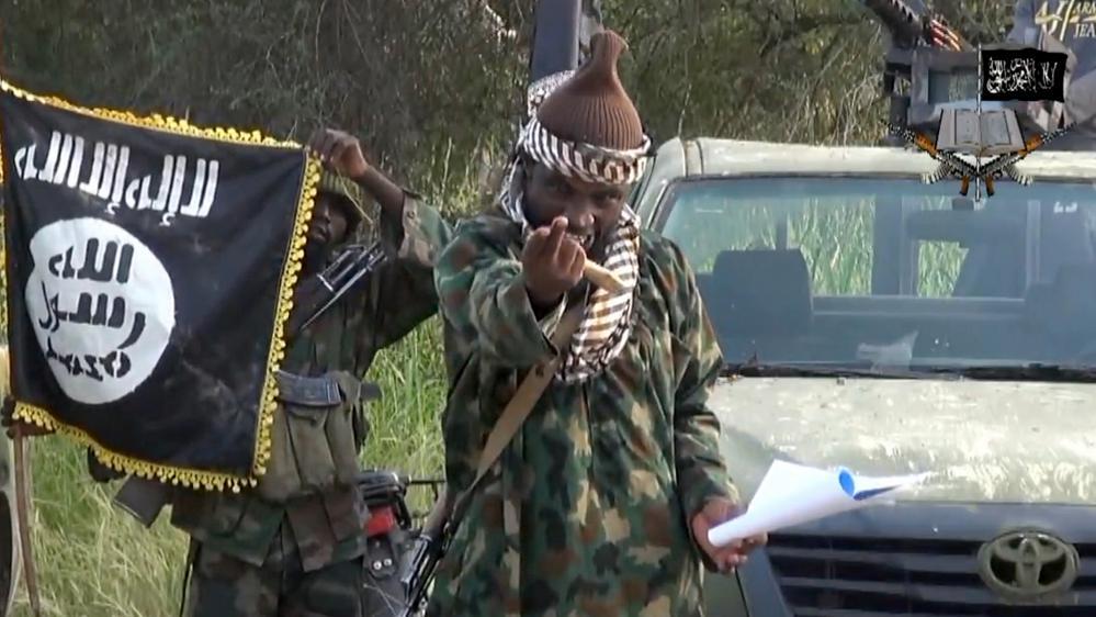 Le chef de Boko Haram.