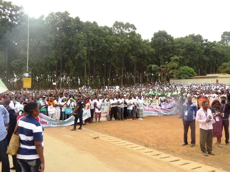Congo Brazzaville : La population de Dolisie déterminée à soutenir la nouvelle république
