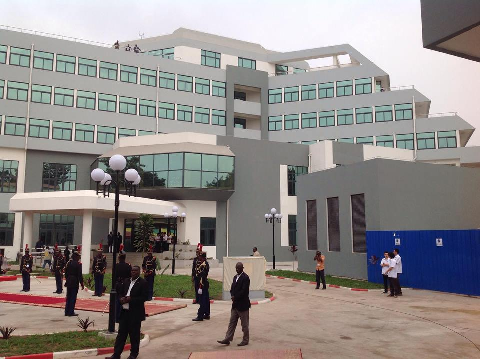 Conférence Episcopale : le siège de l'ACERAC inauguré à Brazzaville par Denis Sassou NGuesso