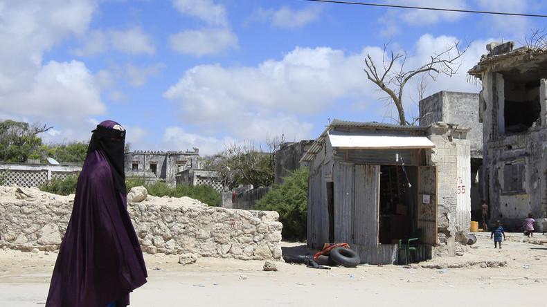 Une femme africaine en burqa. Crédit photo : Sources