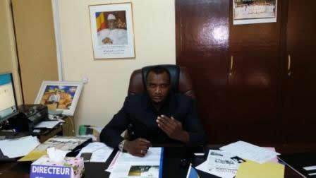 Mahamat Abali Salah, Directeur Général de la SIMATRAC.