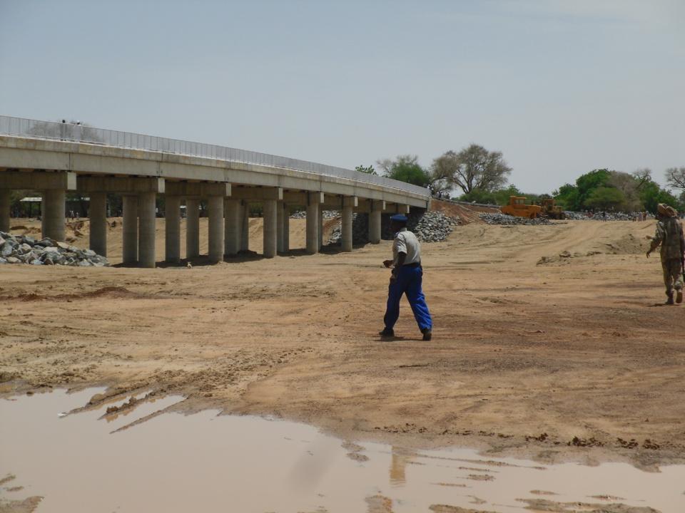 Tchad : Réception provisoire du pont pastoral de Koundjourou