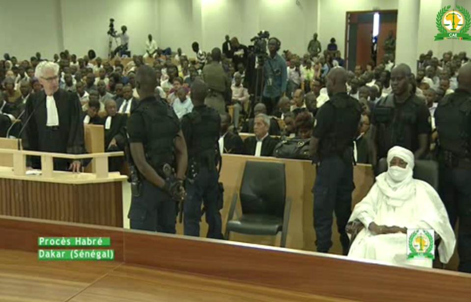 Procès de l'ex-dictateur : Hissein Habré et la politique de la chaise vide