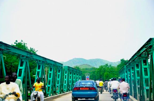 Le pont vert de Maroua. Crédit photo : IG