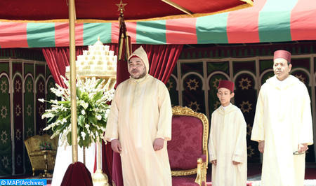 Le peuple marocain célèbre dans la joie la Fête du Trône avec un discours révolutionnaire de son Roi.